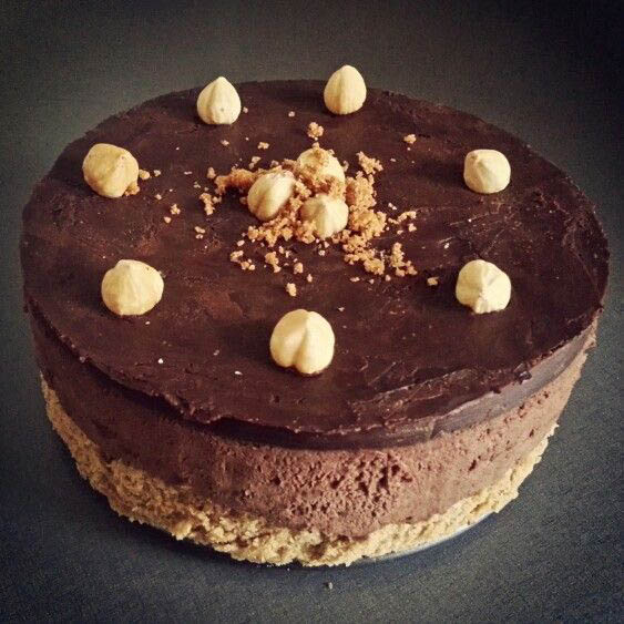 Hazelnut&chocolate mousse