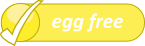 egg free label